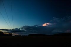 Blue Hour (betadecay2000) Tags: blue cloud weather clouds germany deutschland dawn abend outdoor dusk himmel wolke wolken hour dmmerung blau wetter meteo weer blaue stunde dlmen duelmen
