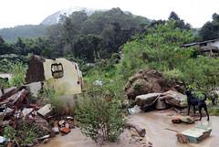 House affected by the 2011 disaster,  Campo Grande, Terespolis, Ro de Janeiro, Brazil. (WATERLAT-GOBACIT) Tags: brazil water brasil grande agua campo disasters terespolis desastres rodejaneiro