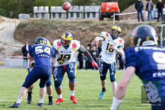 "GFL2 Hildesheim Invaders vs. Assindia Cardinals (Testspiel) 24.04.2015 074.jpg • <a style=""font-size:0.8em;"" href=""http://www.flickr.com/photos/64442770@N03/26608847881/"" target=""_blank"">View on Flickr</a>"