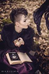 www.fb.com/harizmastyle (harizmaphotogallery) Tags: portrait woman beauty forest project book spider scary darkness photoshoot witch fairy lithuania vilnius lithuanian anarossophotography harizmastyle