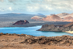 A Volcanic Island _3306 (hkoons) Tags: ocean sea history latinamerica southamerica birds america landscape island lava islands ecuador marine pacific country darwin historic galapagos spanish pacificocean hispanic saltwater equator iquana naturalselection galapagosprovince new7wonders galapagosnationalpark galapagosmarinereserve galpagos nazcaplate galapagostriplejunction bartolame