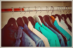 13041096_10153645965110829_188535629980070273_o (portogasdace) Tags: old blue red orange brown color green yellow closet photography photo suits jackets hangers darkblue