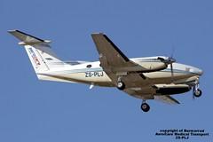 ZS-PLJ LMML 29-04-2016 (Burmarrad) Tags: cn king aircraft air transport super medical 200 airline beechcraft registration lmml aerocare bb1401 zsplj 29042016