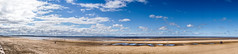 Standin_Around (PJT.) Tags: sea sky people sculpture art beach water pool wales clouds liverpool sand wind north steps footprints statues estuary visitor turbine mersey gormley crosby merseyside instilation