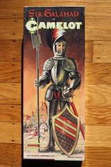 Sir Galahad Of Camelot Model Kit (Aurora 1967) (Donald Deveau) Tags: knights camelot modelkit sirgalahad auroramodel