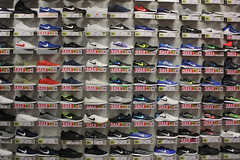 Sale, sale, sale, sale, sale, sale, sale, sale, sale, sale (lucy★photography) Tags: christmas new sports shoes sale many year running trainers repetition direct repeat