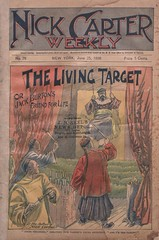 """The living target, or, Jack Burton's friend for life"" in Nick Carter weekly, no. 78 (niudigitallibrary) Tags: chinese hazing drugdealers nickcarter carternick dimenovels popularliterature streetandsmith malecollegestudents northernillinoisuniversitydigitallibrary"