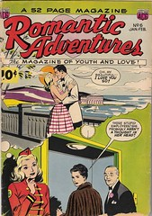 Romantic Adventures 6 (Michael Vance1) Tags: woman man art love comics artist marriage romance lovers dating comicbooks relationships cartoonist anthology silverage