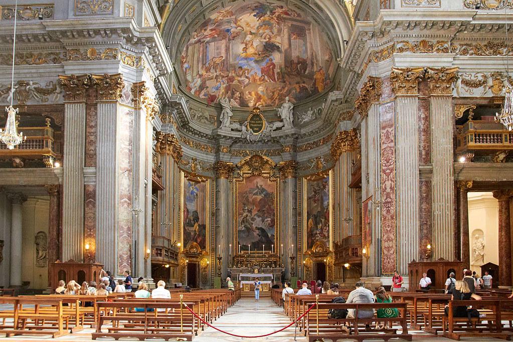 Kết quả hình ảnh cho Nhà thờ Sant'Ignazio di Loyola