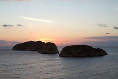 Sunset (smir_001) Tags: winter sunset sea nature water beautiful beauty landscape evening bay spain mediterranean december european mallorca mediterraneansea majorca santaponca balearicislands canoneos7d illadelsconills illamalgrat