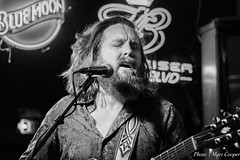 Bluesman Jeff Jensen (MarcCooper_1950) Tags: musician music male bar beard nikon singing guitar longhair blues singer vocalist performer guitarist lightroom jeffjensen d7100 marccooper mauisugarmillsaloon cadillaczac