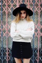 (mmoguerphotography) Tags: street urban espaa girl fashion photoshop portraits canon magazine clothing sevilla spain focus photoshoot moda style seville clothes retratos 6d arizonavintage