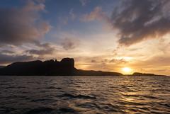 Pohnpei Sunset (Warriorwriter) Tags: sunset silhouette landscape surf waves board surfing fsm watersports splash micronesia pohnpei palikir