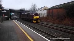 37518 passing through Llansamlet Station with 0Q50 Swansea Maliphant Csd to Bristol Parkway 2016 01 27 #2 (Gareth Lovering Photography 2,000,000 views.) Tags: station swansea bristol with olympus 01 parkway passing through 27 csd lovering 2016 llansamlet maliphant 37518 tg860 0q50