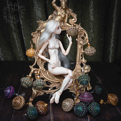 BJTales (jullery) Tags: beauty fashion design beads doll bead bjd porcelain pendant beadwork yulia porcelainbjd bjtales yulialogvinova