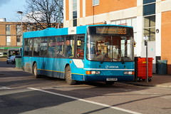 Arriva The Shires Ex-Lancashire United Volvo B10BLE Wright 3313 PN02HVM in Stevenage (Mark Bowerbank) Tags: volvo united wright stevenage the arriva 3313 shires b10ble pn02hvm exlancashire