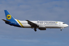 Ukraine International B737-4Y0 UR-GAM BCN 16/06/2007 (jordi757) Tags: barcelona nikon airplanes bcn boeing d100 737 avions b737 elprat boeing737 b737400 urgam ukraineinternational lebl