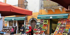 Prodotti tipici (vittorio vida) Tags: street travel italy colors vegetables fruit europe sicily eolie lipari aeolian tipici markrt