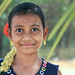 Happy face of an Indian village girl