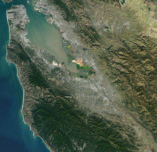 NASA Satellite Captures Super Bowl Cities - Santa Clara, CA