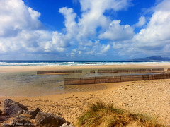 Infinite motion (anbri22) Tags: sea sky beach clouds nuvole mare playa andalucia nubes andalusia infinito spiaggia tarifa anbri infinitemotion motoinfinito
