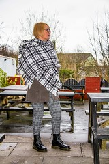 Posture. Pose. Dr Martens. (CWhatPhotos) Tags: pictures camera uk girls portrait england music woman house black color colour public colors leather angel canon pose that photography pub colours foto durham hole legs image boots artistic zoom pics walk dr gig leg north picture pic images womens holes east have photographs photograph fotos 7d gigs sole venue marten which soles dm 18200 eight docs alternative contain bouncing airwair martens theangel patent dms crossgate onthe 18200mm 1460 cwhatphotos crossgatedurham