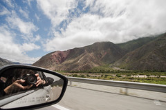 Comienzo de la Quebrada de Humahuaca, Ruta 9 #1xDía (059-366) (Danel Aisemberg) Tags: road cloud argentina ruta clouds de reflex nikon camino cloudy full tokina nubes frame 20 fx montaña 35 nube montañas humahuaca jujuy quebrada d610 ruta9 2035mm atx235afpro