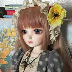Fujiko's Portrait (sailorchiron) Tags: bjd noella leeke leekeworld dollga