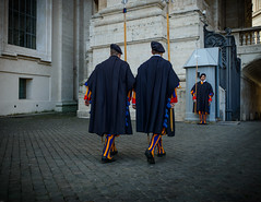 ROME THE VATICAN GUARDS (gggreeny) Tags: fotocompetitionbronze
