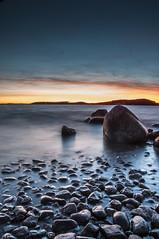 _DSC8067 (matiashaapsaari) Tags: ocean blue sunset sea sky art beach water rock night suomi finland spectacular landscape nikon exposure turku outdoor awesome shore beatiful nikondx d300s nikond300s nikonfinlad