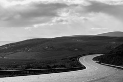 DSC_9506.jpg (S.S82) Tags: road uk trip travel mountains nature clouds fence landscape scotland cloudy unitedkingdom hill sunny falls gb cloudscape 2016 navidale ss82
