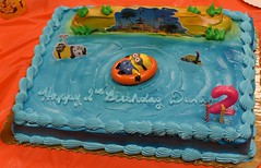 2nd Birthday Cake (donna_0622) Tags: birthday 2 party cake swimming nikon toddler d750 minions