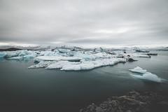 silence & peace (Zanthia) Tags: summer lake ice landscape island is iceland south north jkulsrln glaciallake austurland
