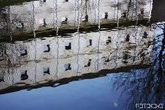 Oily || Aquatic (FotoKore) Tags: city urban abstract color reflection art water netherlands colors dutch amsterdam photography creative nederland oily aquatic minimalism heevix fotokore heevixphotography koreheerema