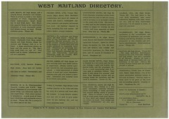 West Maitland Directory, N.S.W. (maitland.city library) Tags: house west club buildings hotel store cafe commerce with business birkenhead commercial shops newsouthwales barton brennan morris oriental 1922 stores society minch harkins tyer printers businesses directory pender carrington compliments calman maitland idstein galton dever cracknell dimmock hildebrandt starrbowkett