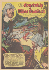 Classics Illustrated 092 / Splash Panel (micky the pixel) Tags: comics comic indian heft indianer neuengland henrywadsworthlongfellow classicsillustrated illustrierteklassiker unabhängigkeitskrieg thecourtshipofmilesstandish puritaner