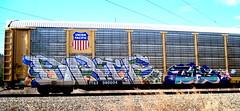 drif - tars (timetomakethepasta) Tags: train graffiti pacific union freight aa tars autorack drif ttgx