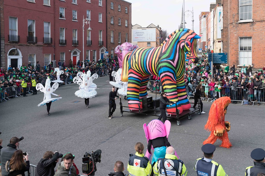 ARTISTIC AT THE ST. PATRICK'S DAY PARADE [MARCH 17 2016]--112476