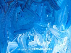 Vector Oil Paint (creativeloads.com) Tags: blue sea sky abstract art texture water stain ink watercolor poster design paint acrylic pattern graphic artistic drawing background grunge wave brush messy oil watercolour backdrop swirl splash liquid vector