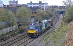 68016. Lightly loaded! .. (Alan Burkwood) Tags: diesel locomotive walsall fearless drs 68016 ryecroftjunction bescottoton