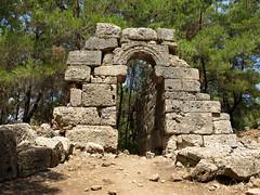 Turcja - Phaselis (tomek034 (Thank you for the 900 000 visits)) Tags: turkey turkiye phaselis turcja ruiny