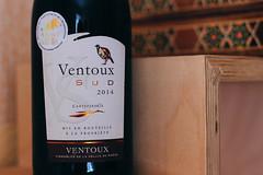 Ventoux Sud, Ctes du Ventoux AOC, 2014 (Dasha Mer) Tags: red wine dry ventoux