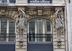 Grace Under Pressure (skipmoore) Tags: paris architecture figures chimera
