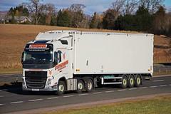 VOLVO FH - STEVENSON Avonbridge (scotrailm 63A) Tags: stevenson trucks lorries