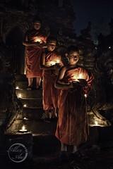 Lights on Hands - Little Monks