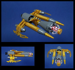 The Felice (Karf Oohlu) Tags: lego spaceship moc microscale microspacetopia goldenspaceship