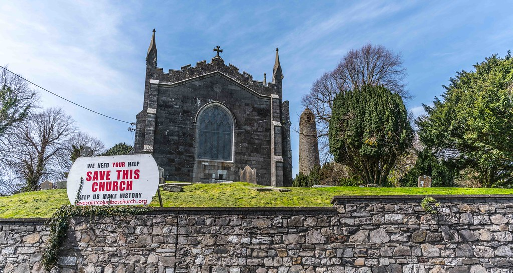 St. Columba's Church And Grounds In Swords County Dublin [Church Road]-115207
