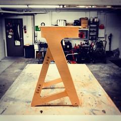Latest version of our desk. #Jaswig... (jaswigstandup) Tags: desk plywood standingdesk uploaded:by=flickstagram instagram:photo=9518310139485519331744266691 jaswig standingrevolution