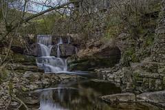 Water And Stone (gobgod) Tags: longexposure reflections landscape waterfall nikon rocks calm serene d7100