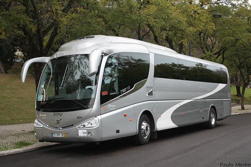 Volvo B11R Irizar PB 8541 Transdev Douro, Parque Eduardo VII, 9 de Janeiro de 2016
